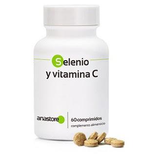 comprimidos de selenio y vitamina C